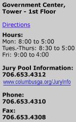 Columbus, Georgia Jury Manager