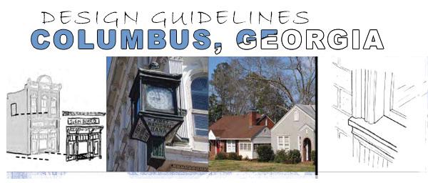 Design Guidelines Columbus Georgia