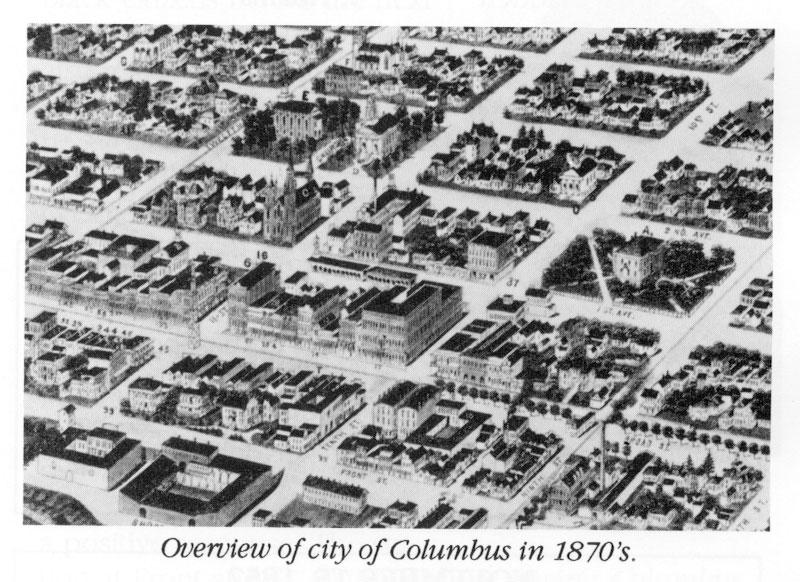 History of columbus columbus 1900 detailed map malvernweather Images