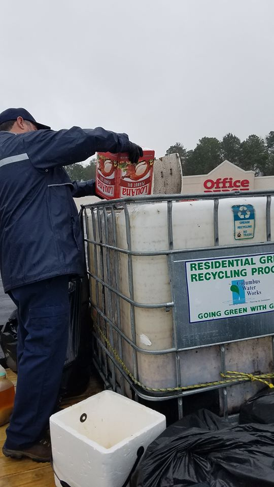 Recycling grease