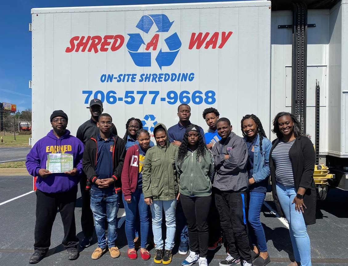 Shred-A-Way project helpers